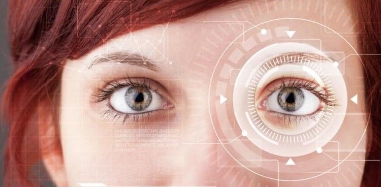 La couleur de nos yeux: une empreinte digitale