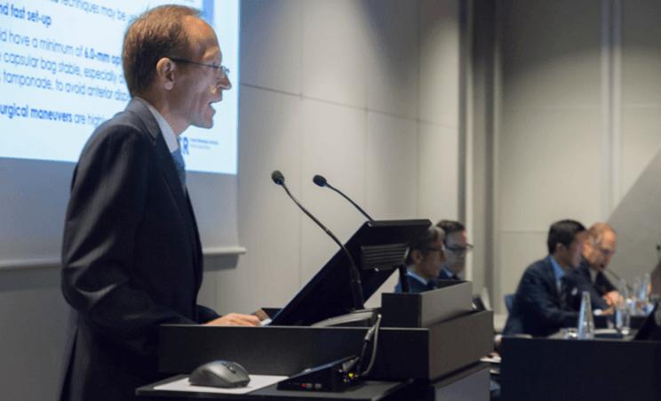 سيقوم الدكتور أغناسي جورغنز بتقديم تقنية حديثة رائدة على المستوى العالمي في أطار المؤتمر الثاني و العشرون للجمعية الأسبانية لشبكية العين و الجسم الزجاجي