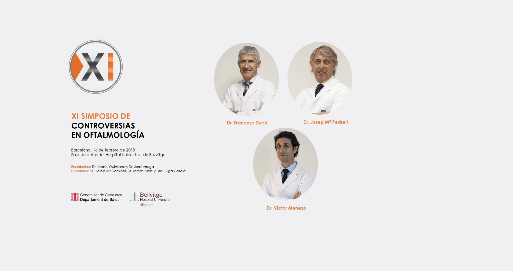 ICR aborda el proceso y selección previos a la cirugía refractiva en el XI Simposio de Controversias en Oftalmología