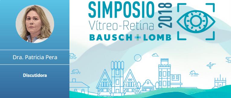 La Dra. Patricia Pera será ponente en la XIV edición del Simposio Vítreo-Retina 2018