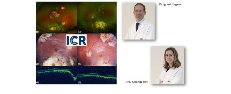 Le Dr Jurgens et le Dr Rey de l'ICR