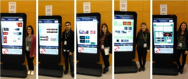 ICR optometrists at the congress