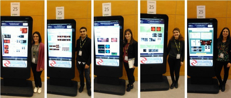 ICR optometrists at the 25th International Congress of Optometry, Contactology and Ophthalmic Optic
