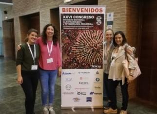 Las doctoras del ICR en el congreso