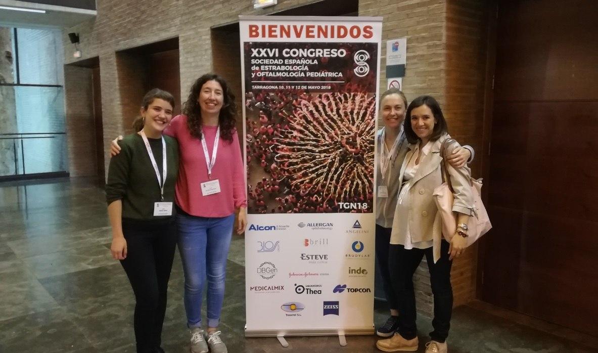 La Dra. Rodríguez participa com a moderadora al XXVI Congrés de la Societat Espanyola d'Estrabologia i Oftamologia Pediàtrica