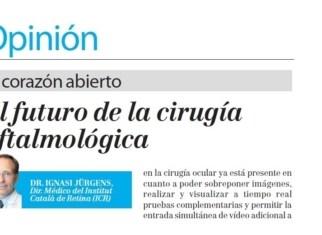 Article Dr. Jürgens a la Gaceta Mèdica | ICR