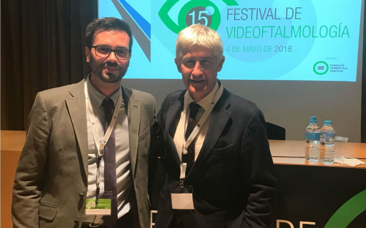 Dr. Duch and Dr. Ruiz participate in the 15 Festival of Videophthalmology