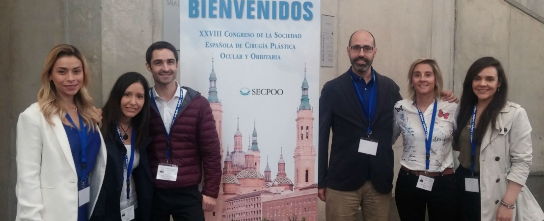 Oftalmólogos del ICR en el XXVIII Congreso de la Sociedad Española de Cirugía Plástica Ocular y Orbitaria