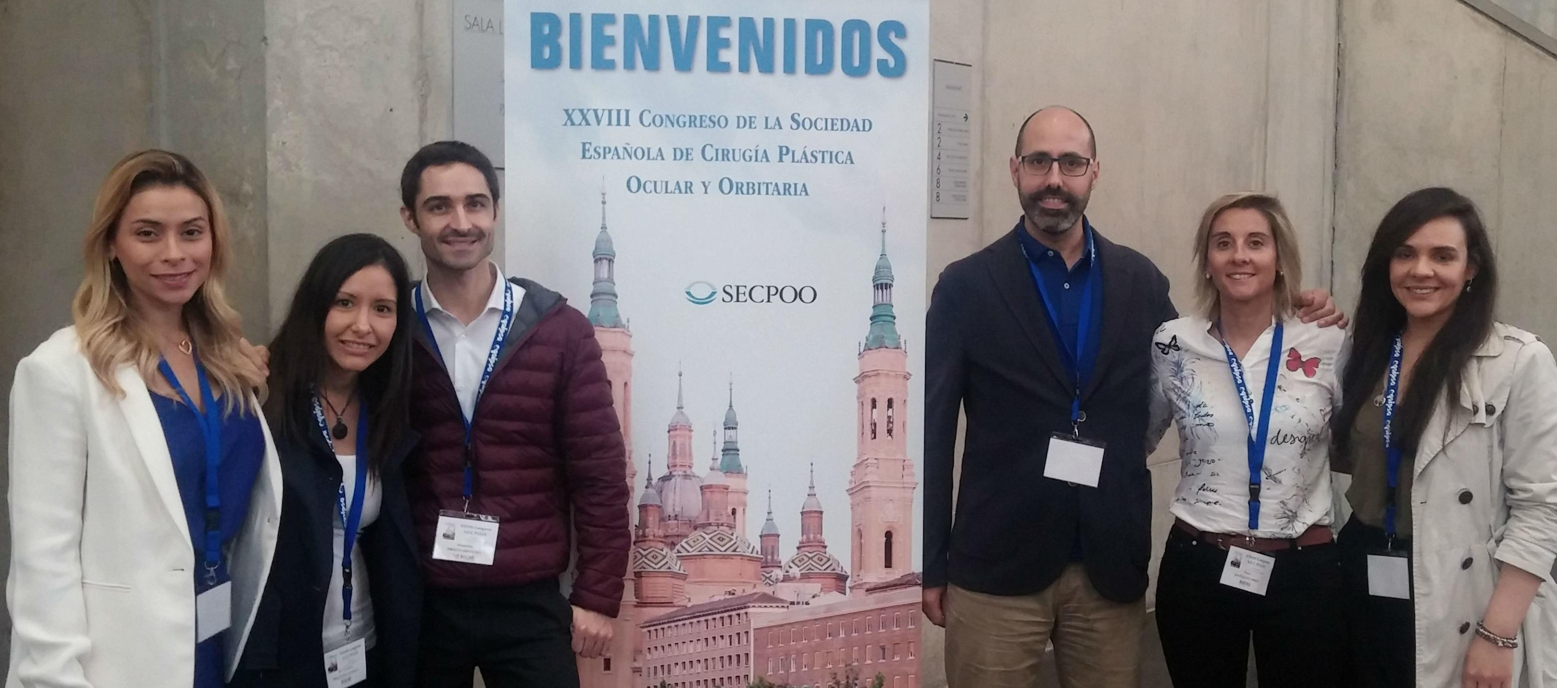 ICR Oculoplastics Department Team in the 28th Congress of the Spanish Society of Ocular and Orbital Plastic Surgery