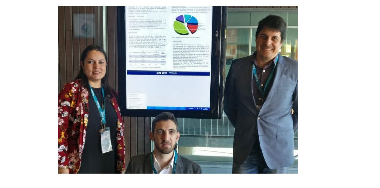 Membres del Departament d'Atenció al Pacient de l'ICR al 1er Congrés de Mediació en Salut