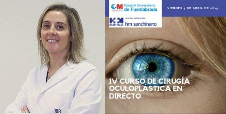 La Dra. Ibáñez participarà com a convidada al IV Curs de Cirurgia Oculoplàstica en directe