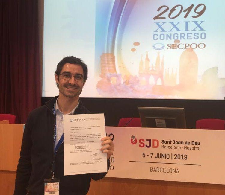 Dr. Prieto_premio mejor comunicación SECPOO