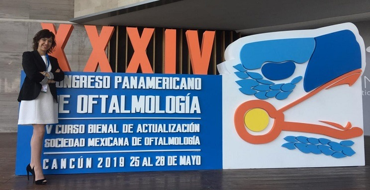 Dr. Rocío Rodríguez participated in the XXXIV Pan American Congress of Ophthalmology