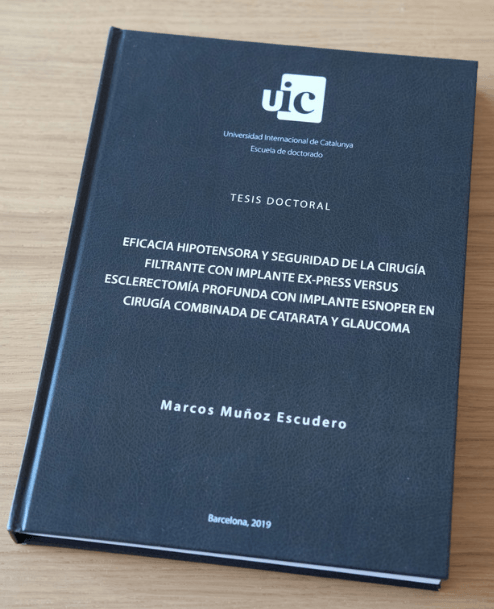 Dr. Marcos Muñoz's thesis