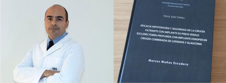 El Dr. Marcos Muñoz presenta la seva tesi doctoral amb menció Cum Laude