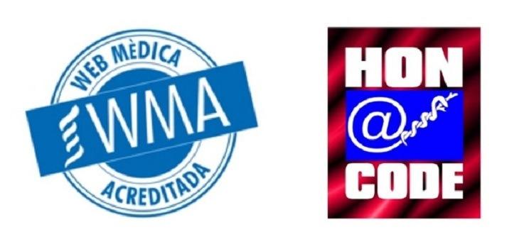 Le site web de l'ICR compte avec les labels Web Médica Acreditada et HONcode