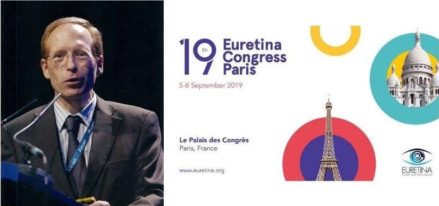 El Dr. Jürgens participa com a ponent al Congrés Euretina 2019