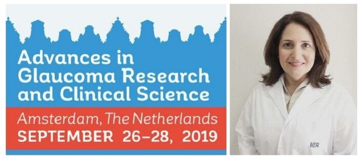 La Dra. Aristeguieta presenta un treball d'investigació al Congrés Advances in Glaucoma Research and Clinical Science 2019