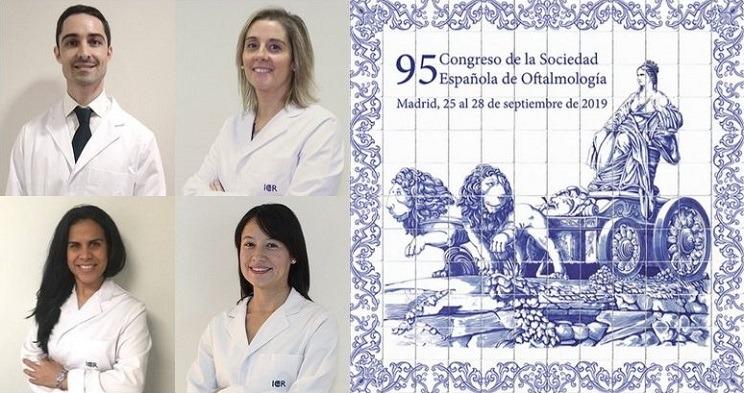 Participació destacada dels metges del Dept. de Glaucoma i del d'Oculoplàstia al 95 Congrés SEO