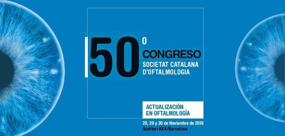 Participació destacada de l'ICR al 50è Congrés de la Societat Catalana d'Oftalmologia
