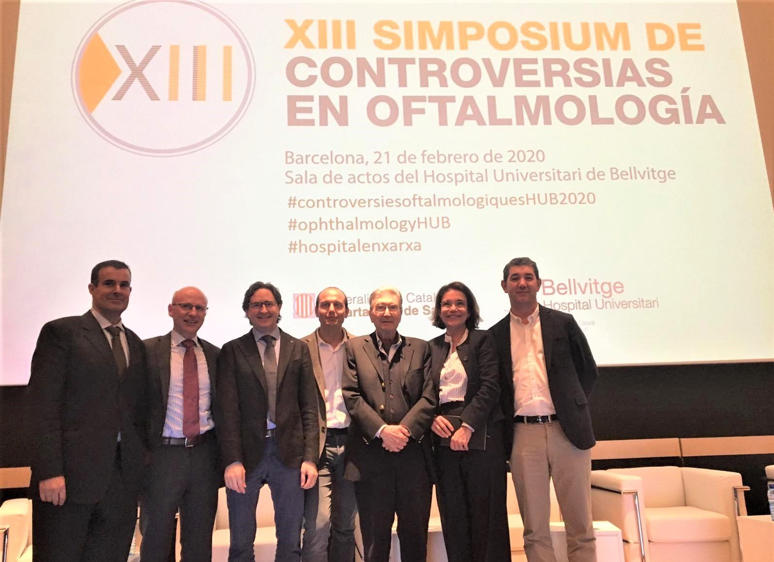 """El Dr. Navero va participar com a expert a la taula rodona """"Casos clínics quirúrgics de glaucoma. Quina tècnica triar? """", on va discutir diferents casos clínics i la millor tècnica per tractar-los."""