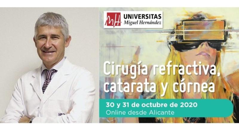 El Dr. Duch participará como ponente en el XVIII Alicante Refractiva Internacional 2020