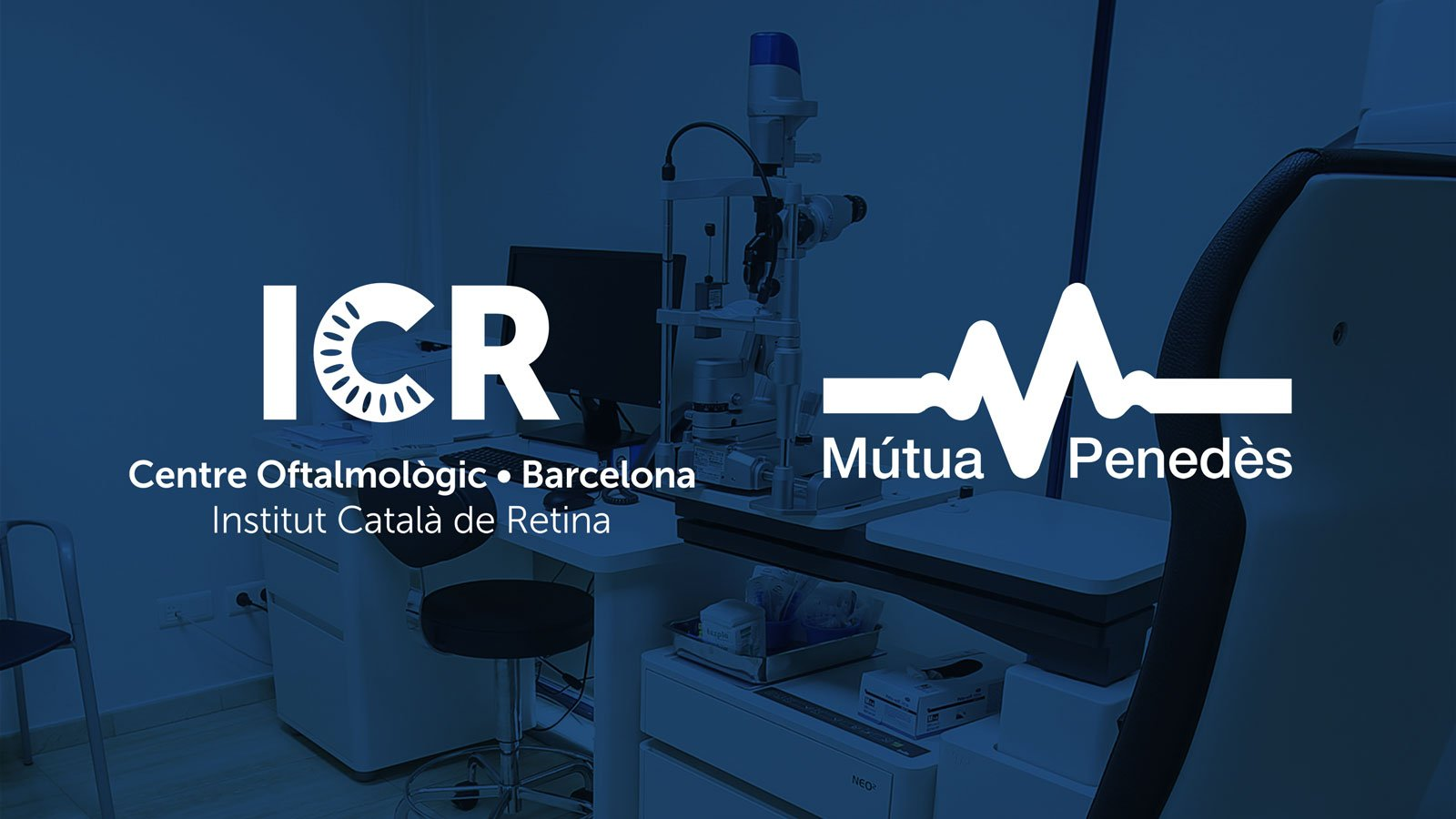 Mútua Penedès inaugurates in Vilafranca a new ophthalmological service by ICR