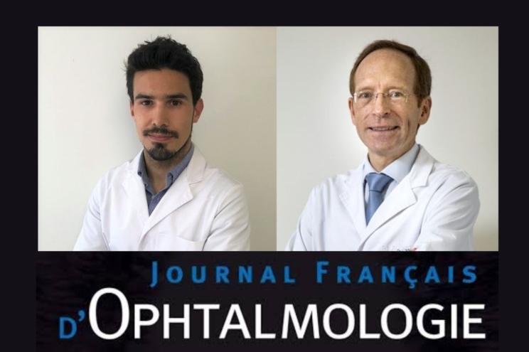 Dr. Santamaría and Dr. Jürgens publish an extremely rare case of intraocular hemorrhage