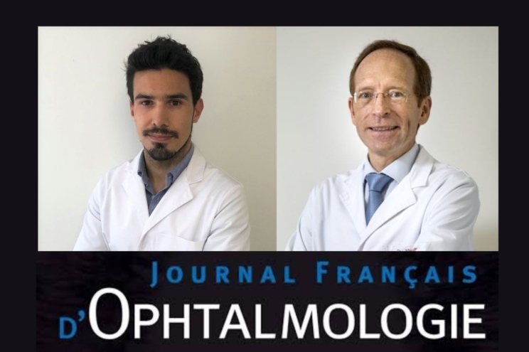 Dr. Santamaría and Dr. Jürgens publish an extremely rare case of intraocular hemorrhage