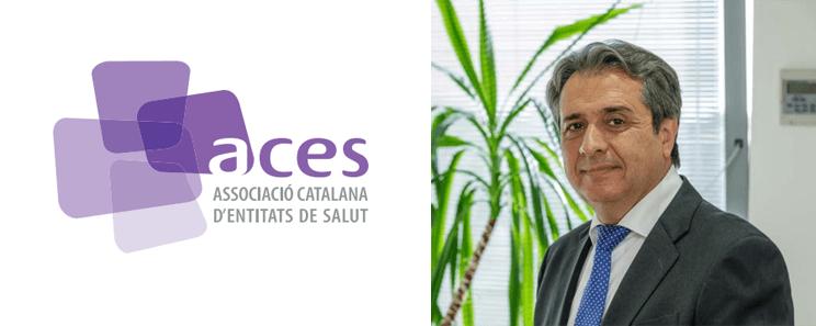 """En Joan Nadal, gerent del grup ICR, ha estatentrevistat per ACES en el monogràfic """"Mirades sobre la pandèmia"""""""