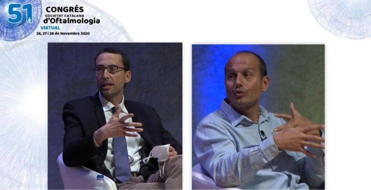 El Dr. Navero y el Dr. Maseras participan en el Congreso Virtual de la Societat Catalana d'Oftalmologia 2020