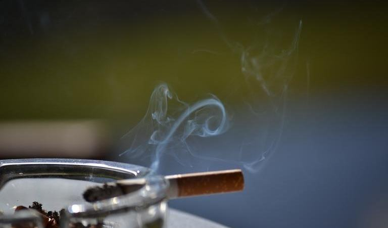 Tobacco smoke can cause eye problems in adults and children