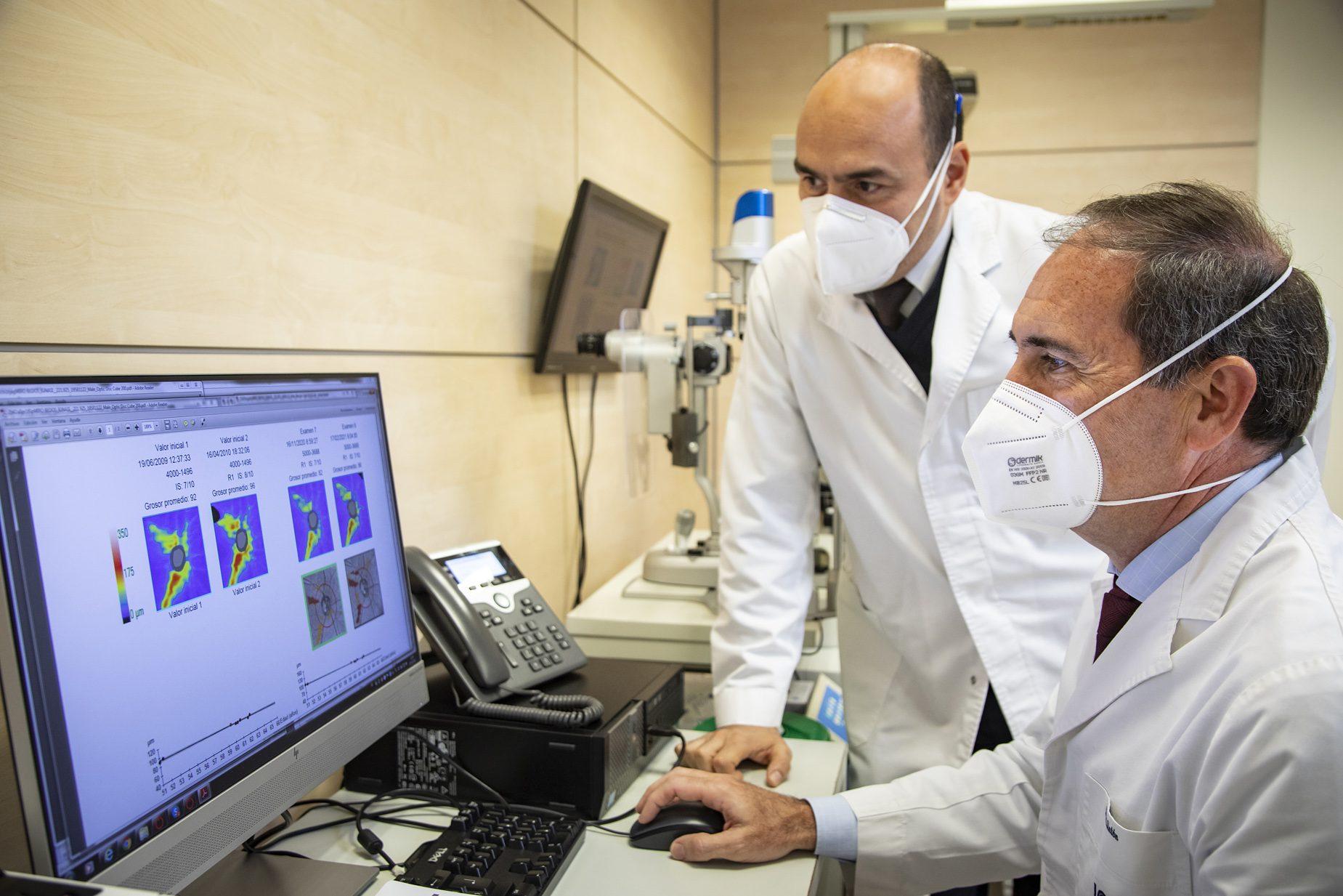El departamento de glaucoma analiza detalladamente los casos de cada paciente, con el fin de hacer el mejor diagnóstico y tratamiento.