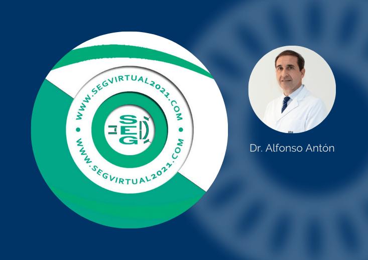 El Dr. Antón habla de telemedicina en glaucoma en el Congreso Virtual de la Sociedad Española de Glaucoma