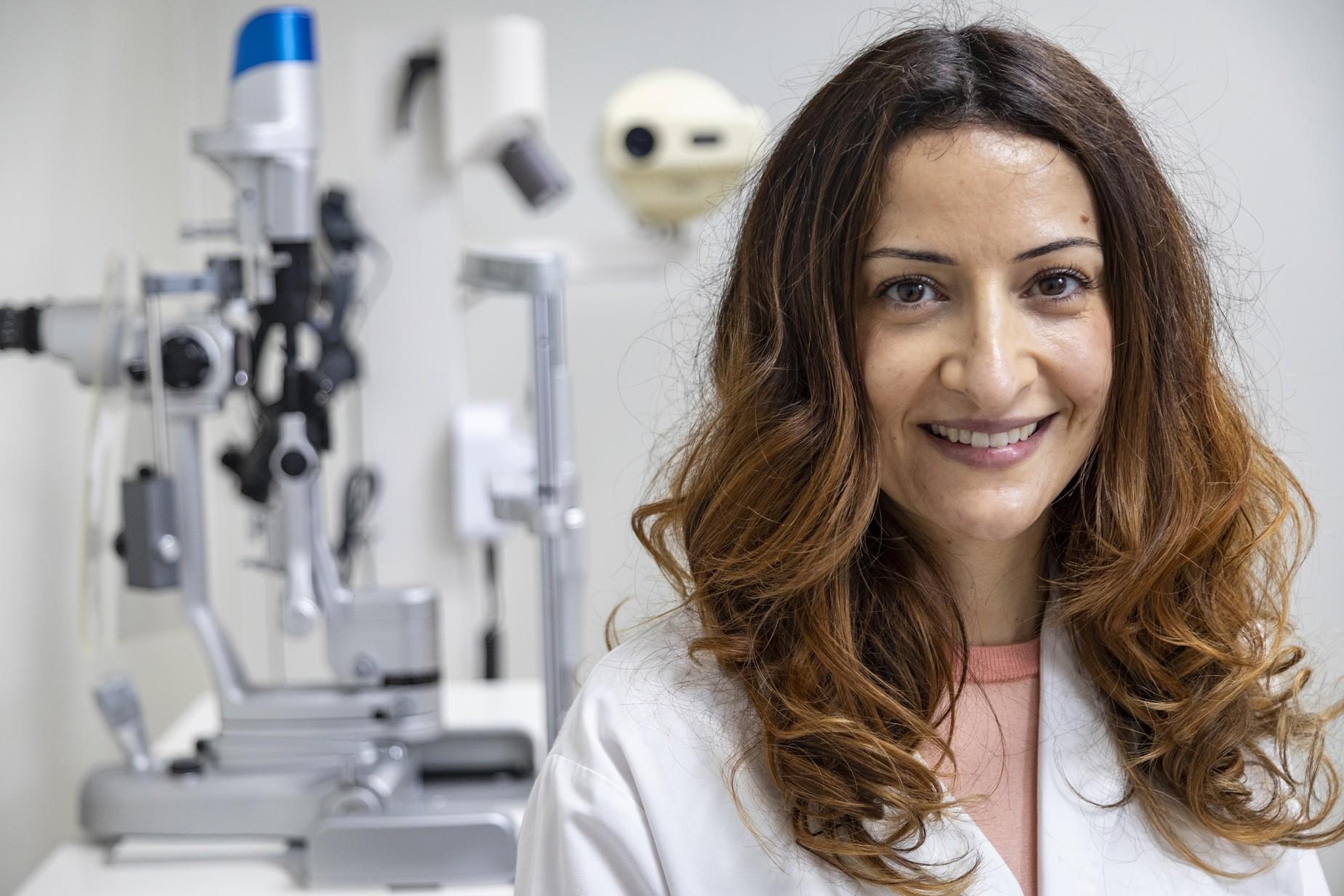 La Dra. Castillo participa en un estudio internacional sobre la evolución visual de pacientes con NOHL