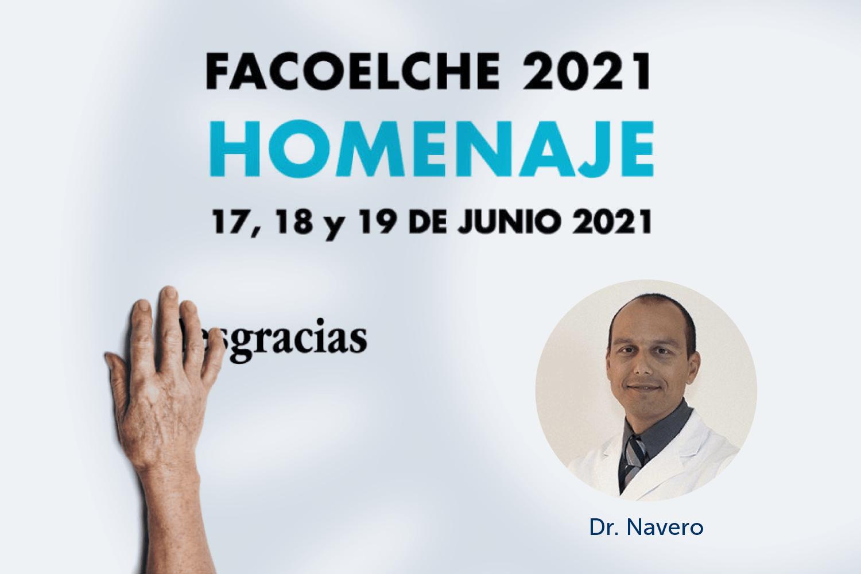 El Dr. Navero habla sobre tratamientos para el glaucoma en FacoElche 2021