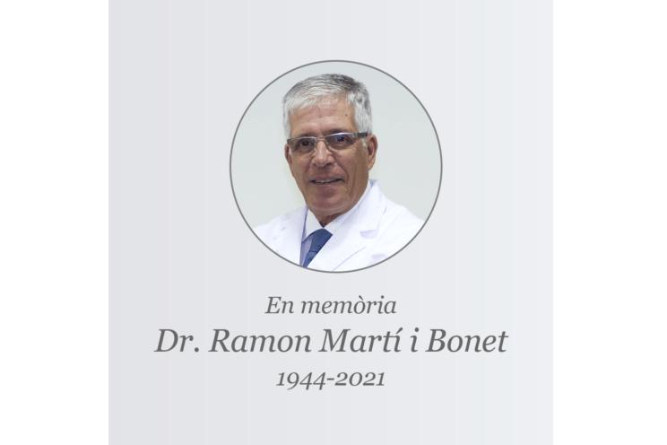 Dr. Ramon Marti Bonet
