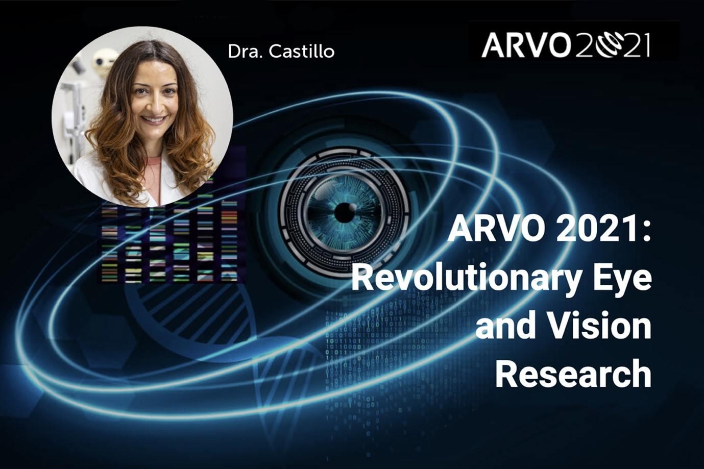 La Dra. Castillo, coautora de un trabajo sobre la terapia génica presentado en la reunión anual de ARVO 2021
